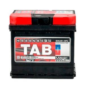 Аккумулятор TAB Magic 55Ah оп кубик