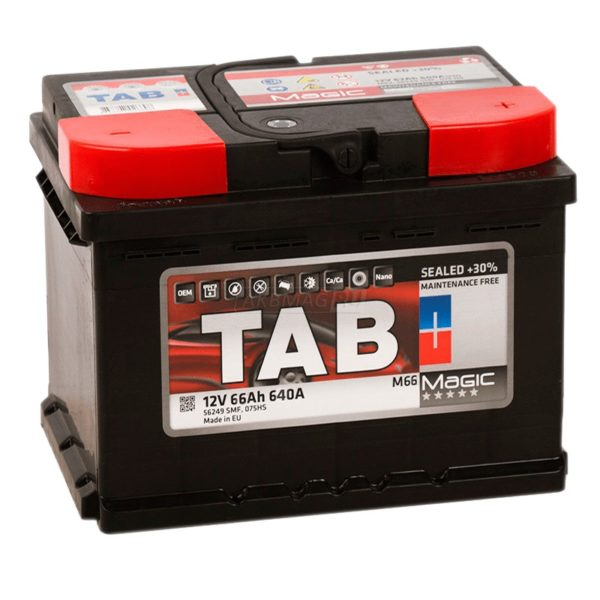 Аккумулятор TAB Magic 66 оп