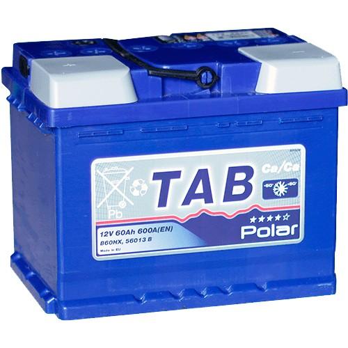 Аккумулятор TAB Polar Blue 60 Ач пп