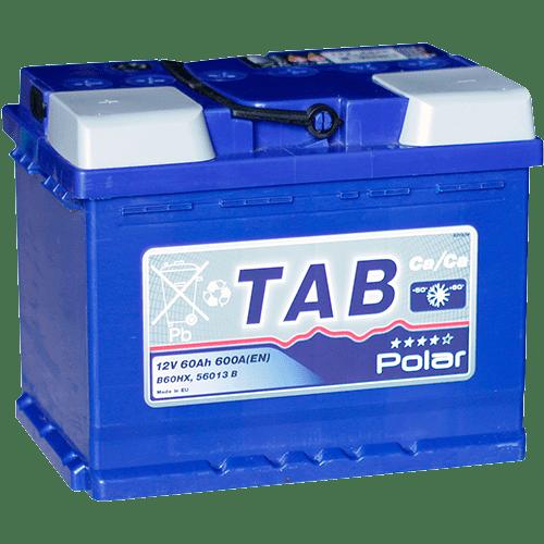 Купить аккумулятор TAB Polar Blue 60 Ач пп