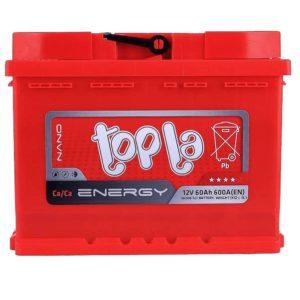 Аккумулятор Topla 60 Ач пп (низкий)