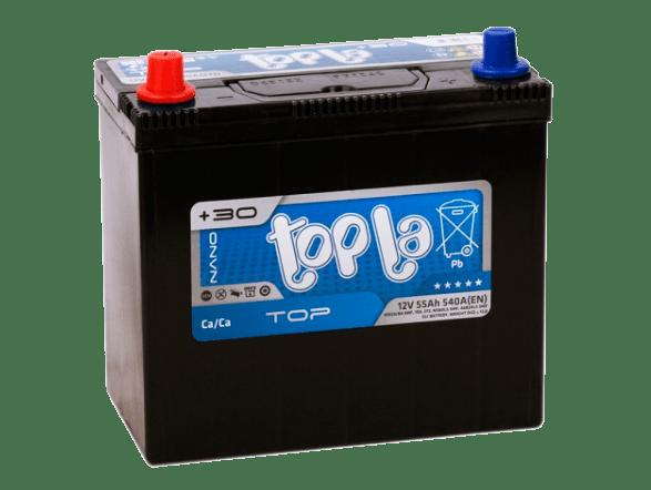 Купить аккумулятор Topla Asia Top 55 пп (с переходником)