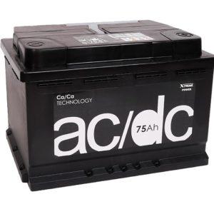 Аккумулятор AC/DC Ач 75 оп