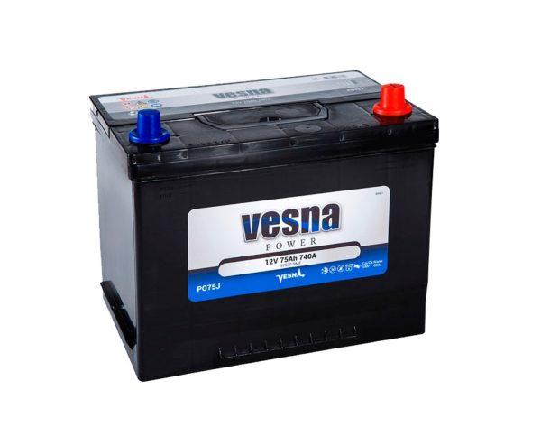 Аккумулятор VESNA Power 75 Ач (D26L) оп