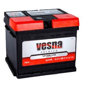 Аккумулятор VESNA Premium 54 Ач оп (кубик)
