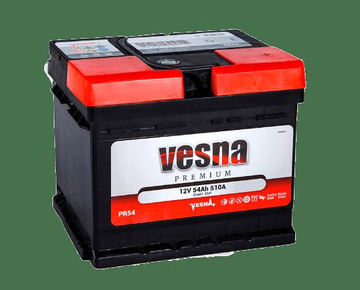 Купить аккумулятор VESNA Premium 55 оп (кубик) в Томске
