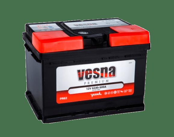 Купить аккумулятор VESNA Premium 62 оп (низкий) в Томске
