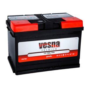 Аккумулятор VESNA Premium 78 Ач оп