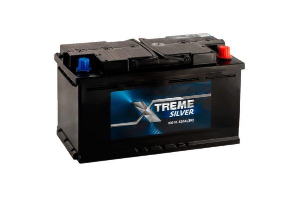 Аккумулятор X-treme SILVER (Тюмень) 100 Ач обр