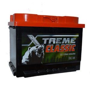 Аккумулятор X-treme CLASSIC (Тюмень) 55 Ач пп