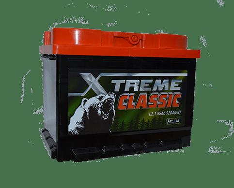 Купить аккумулятор X-treme CLASSIC (Тюмень) 55 пп в Томске