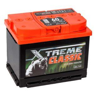 Аккумулятор X-treme CLASSIC (Тюмень) 60 Ач обр