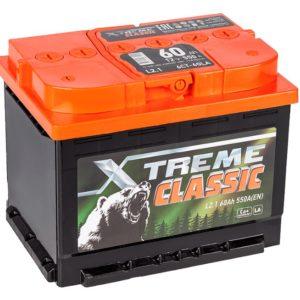 Аккумулятор X-treme CLASSIC (Тюмень) 60 Ач пр
