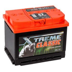 Аккумулятор X-treme CLASSIC (Тюмень) 62 Ач обр