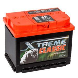 Аккумулятор X-treme CLASSIC (Тюмень) 62 Ач пп
