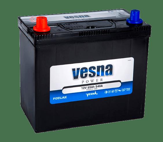 Купить аккумулятор Vesna Power 55 ПП в Томске
