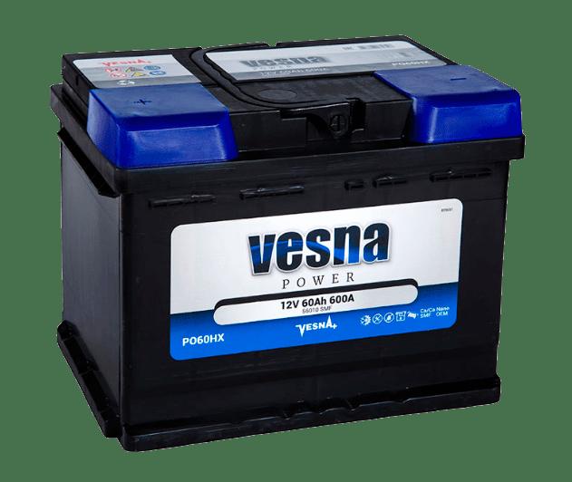 Купить аккумулятор Vesna Power 60 ПП в Томске