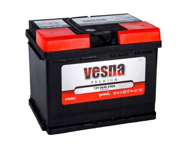 Аккумулятор VESNA Premium 66 Ач ОП