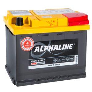 Аккумулятор AlphaLINE AGM L2 60 Ач оп