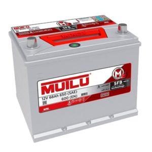 Аккумулятор Mutlu 70D23L 68 АЧ ОП