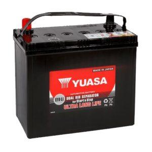 Аккумулятор YUASA EFB 75B24L 50 АЧ ОП