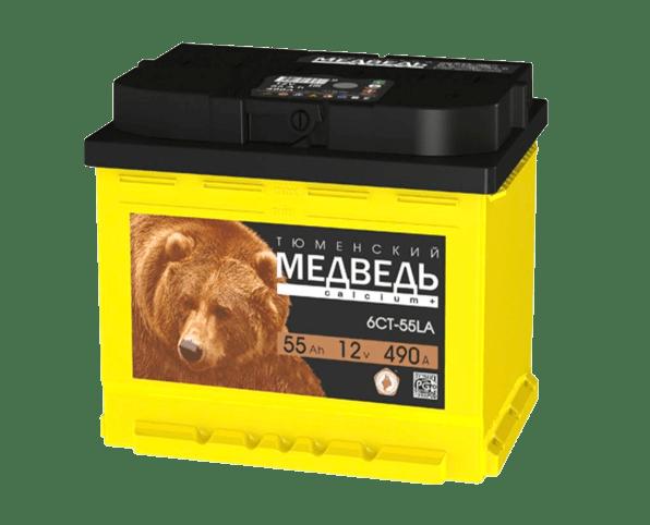 Продажа аккумулятора тюменский медведь в Томске