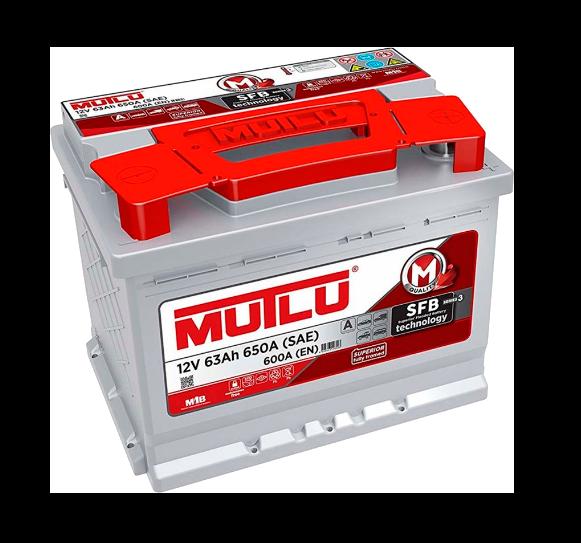 Аккумулятор Mutlu LB2 63 АЧ ОП (Низк)