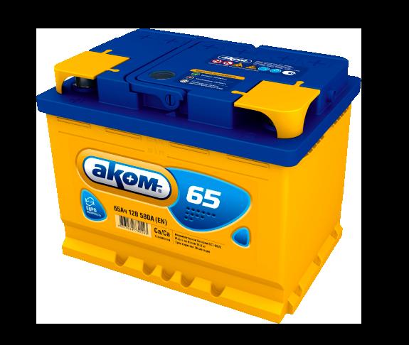 Аккумулятор АКОМ  65 АЧ ПП