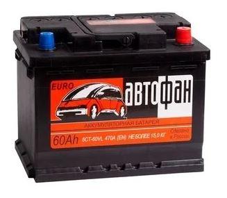 Аккумулятор Автофан 60 Ач ПП