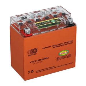 Мото аккумулятор 14Ah OUTDO UTX14(YTX14)-BS iGEL